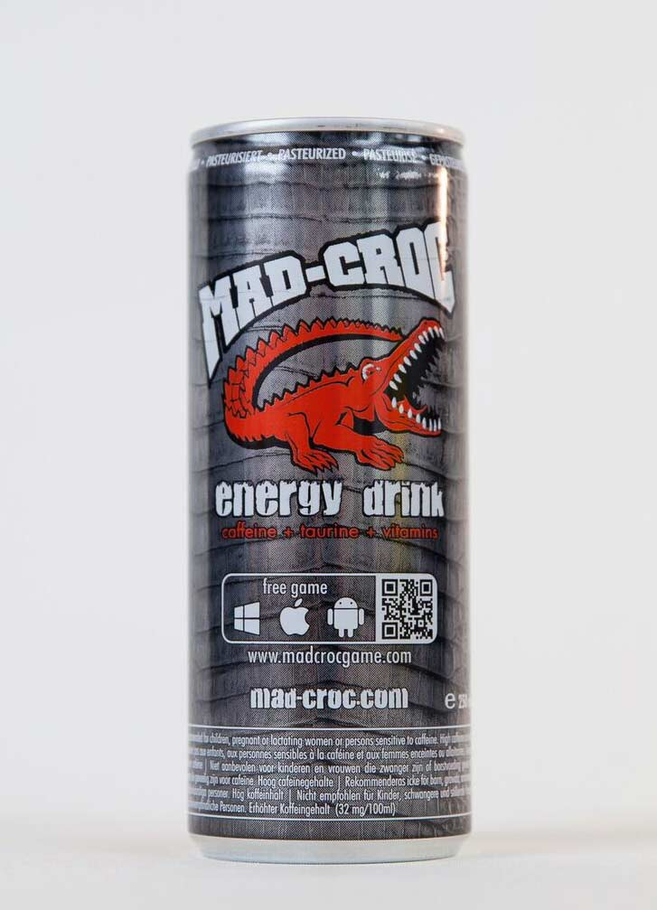 картинка MAD-CROC Energy Drink оптом