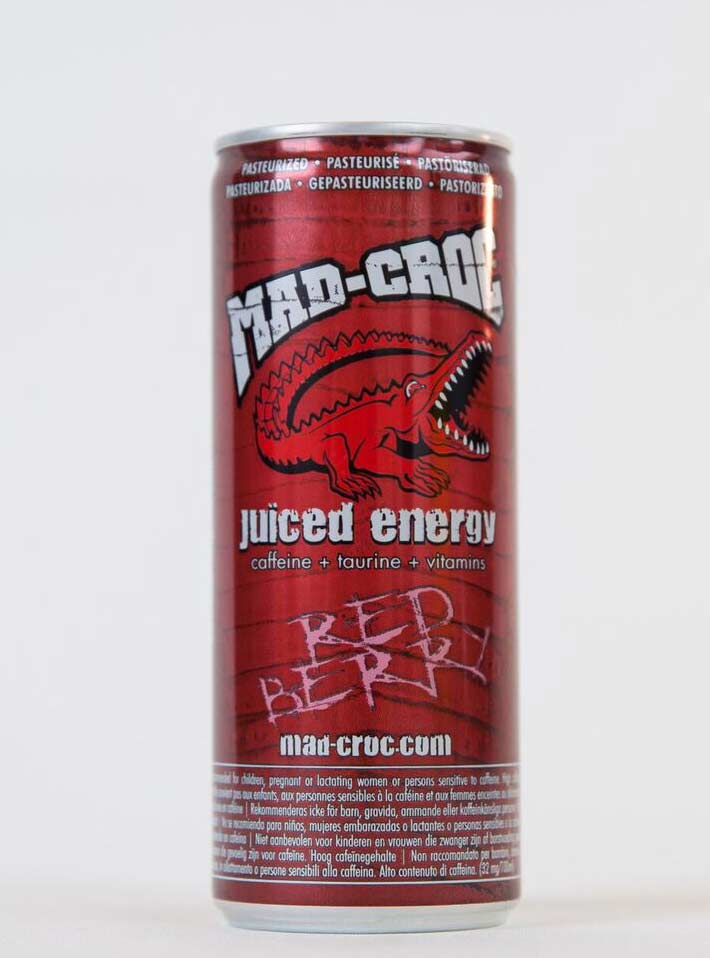 картинка MAD-CROC juiced energy RED BERRY